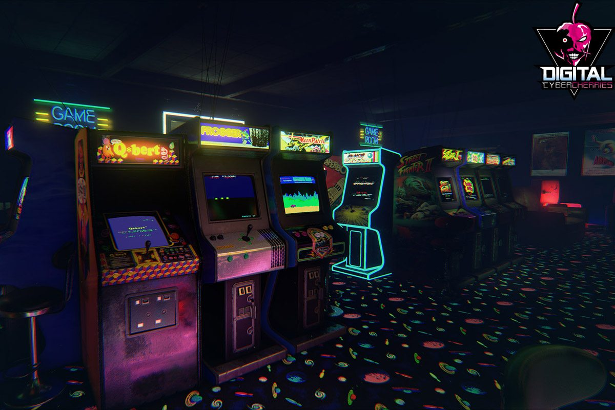 Arcade Game Rooms In Atlanta Ga