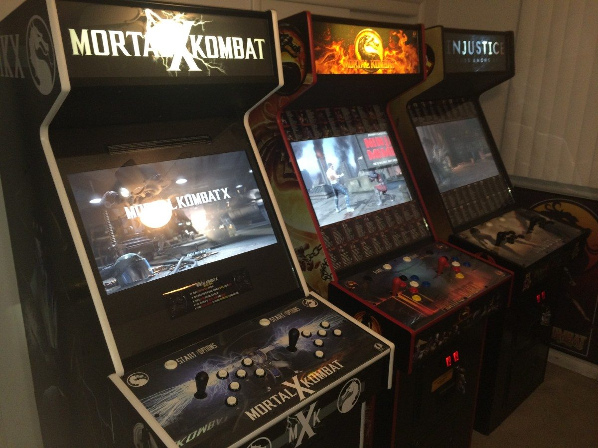 mortal kombat arcade machine