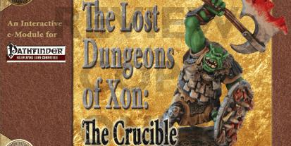 Kickstarter Tabletop Alert: Interactive RPG Module: 'The Lost Dungeons of Xon'