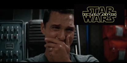 McConaughey Reacts to the 'Star Wars' Trailer!