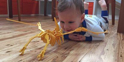 Kickstarter Alert: 54 Colorful 3D Dinosaurs From Boneyard Pets