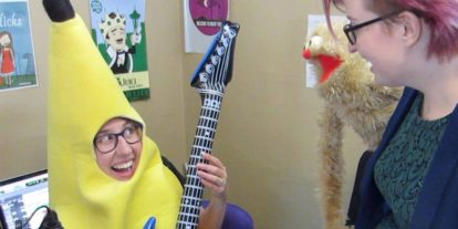 Help The Doubleclicks Fund Their Next Album, 'President Snakes'