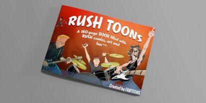 Kickstarter Alert: Rush Gets the Fantoons Treatment in a Book of Comics and Art