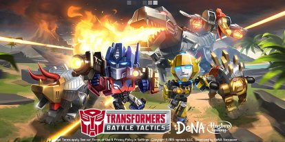 Commuter Gamer: 'Transformers: Battle Tactics' Unleashes the Dinobots