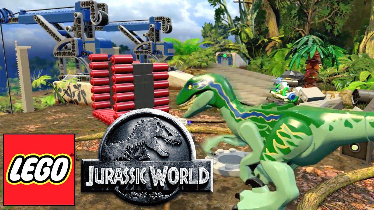 Lego Jurassic World Released Geekdad