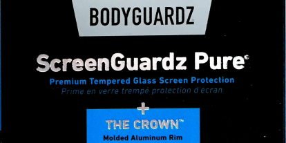 Bodyguardz Screen Protector Provides Full Coverage