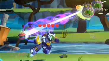 Bluestreak Comes to 'Angry Birds Transformers' With Droids and Crafting