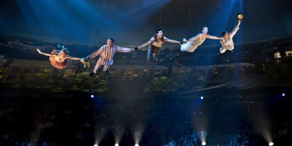High-Tech, Acrobatic Production Brings 'Peter Pan' to New Heights