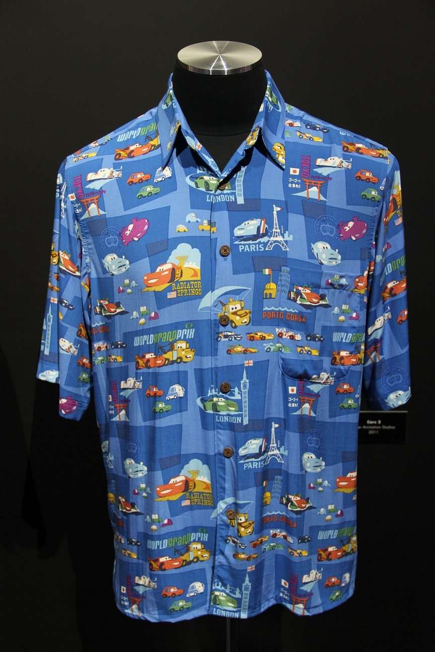 Big Toy Cars >> John Lasseter Studio Collection: Hawaiian Shirts Ahoy ...