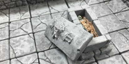 Dungeon Casting Part 2: Creating Custom Molds