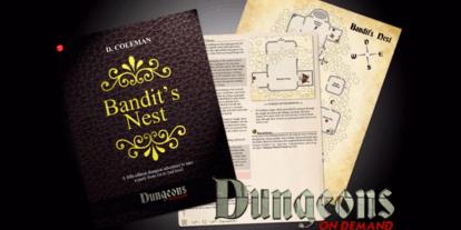 Kickstarter Tabletop Alert: 'Dungeons On Demand' RPG Module