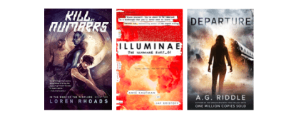 Book Review Triple-Play – 'Departure' – 'Kill By Numbers' – 'Illuminae'