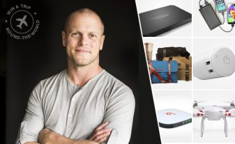 GeekDad Geekaway: The Tim Ferriss Round-the-World Giveaway