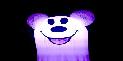 Mickey's Halloween Party at Disneyland Is Spooky Fun