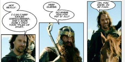 'DM of the Rings' Webcomic