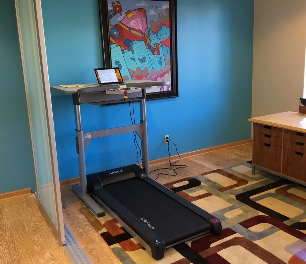 GeekDad Gets HandsOn and FeetOn With a LifeSpan Treadmill Desk