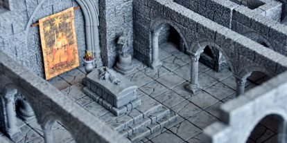 Dungeon Casting Part 1: Creating Dungeons With Hirst Arts Molds