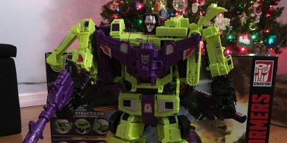 Party Like It's 1985 with Transformers Combiner Wars Devastator