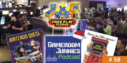Gameroom Junkies #58: Free Play Filmmaking