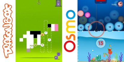 Playing With Numbers: 'DragonBox' and 'Osmo'