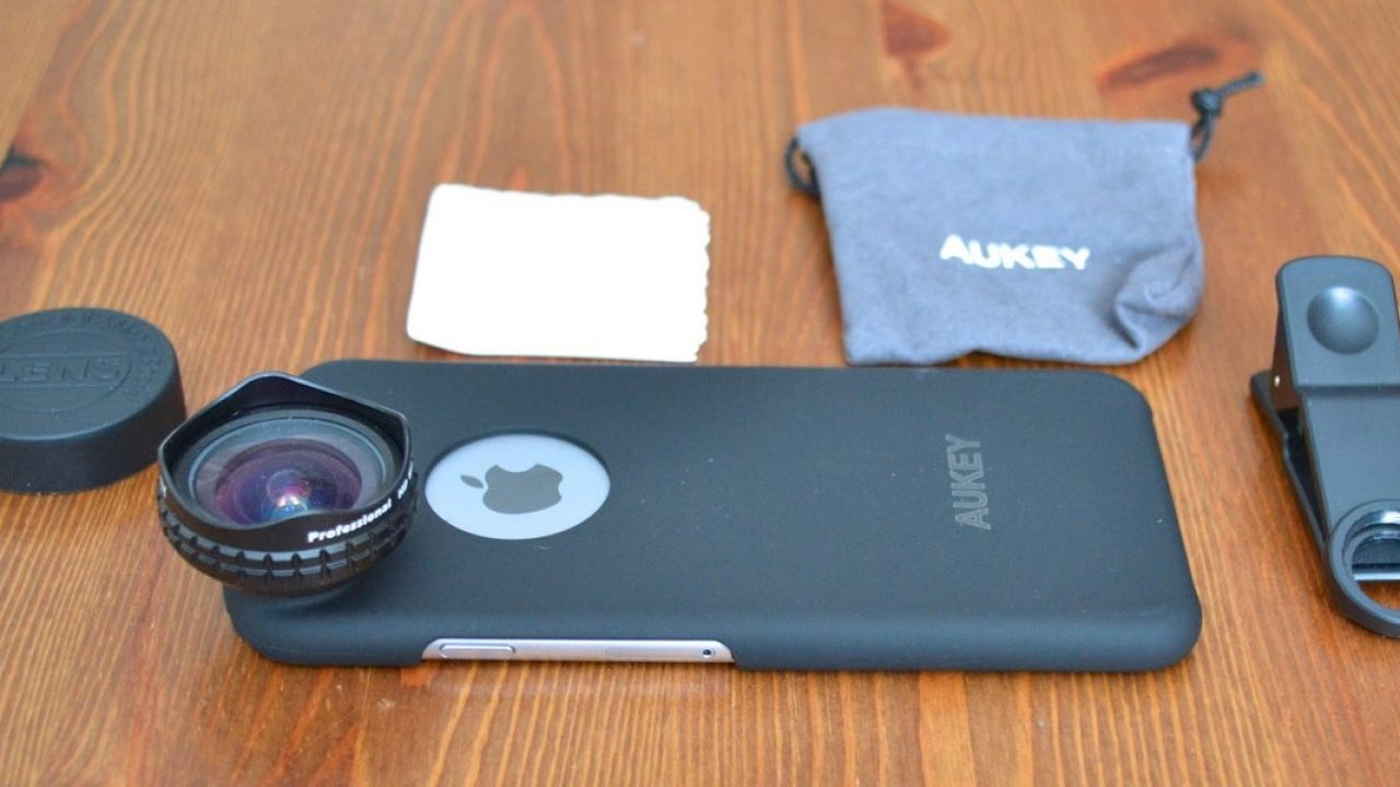 GeekDad Review: Aukey Optic Pro Wide Angle Camera Lens With ...