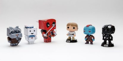Love Funko Pop!? Make Your Own 3D Figures With CubeeCraft
