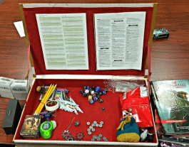 Custom Dungeon Master Screen – Plus 5-in-1 Leather AD&D Tome
