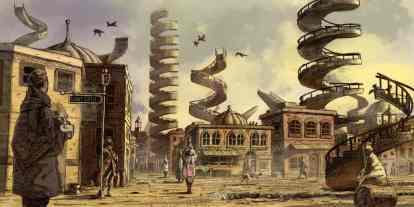 Book Review: Robert Jackson Bennett's 'Divine Cities' novels