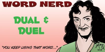 Word Nerd: Duel Identity