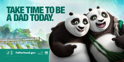 Get Inspired to Be a Good Dad With fatherhood.gov and 'Kung-Fu Panda 3'
