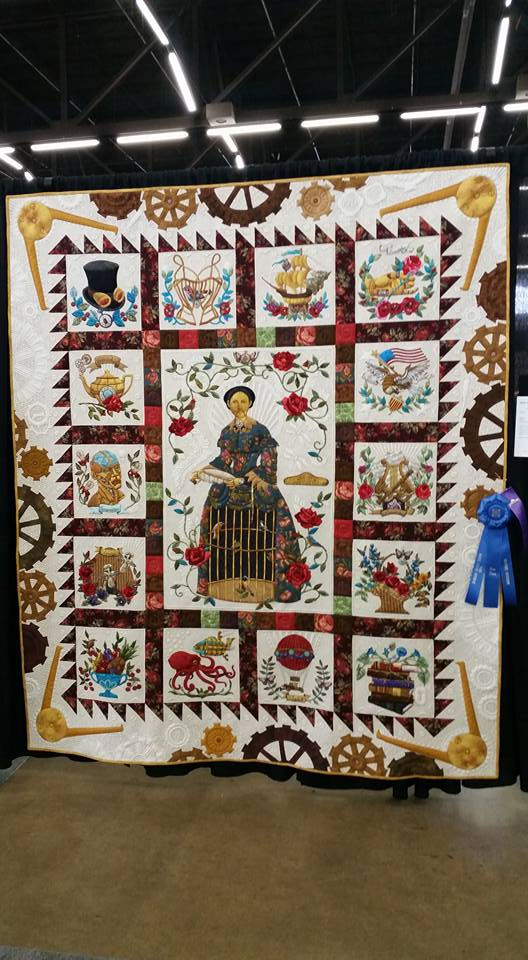 Check Out This Amazing Steampunk Quilt - GeekMom : steampunk quilt pattern - Adamdwight.com