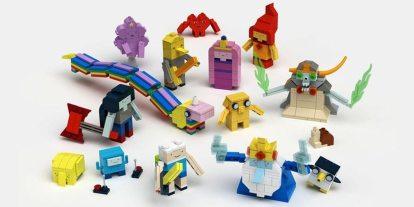 "Algebraic News! ""Adventure Time"" Coming to LEGO [Kinda]"