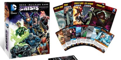 Tabletop Review: 'DC Comics Deck-Building Game Crisis Expansion Pack 3' Introduces Suicide Squad and Crime Syndicate