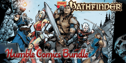 Dynamite 'Pathfinder Comics' Humble Bundle: The Insanity Continues!