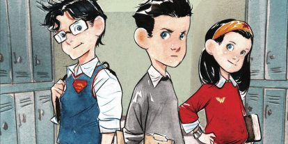 DC Comics' Big Three Are Big Kids in 'Study Hall of Justice'