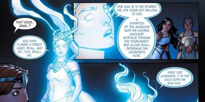 DC This Week: 'The Legend of Wonder Woman' Soars