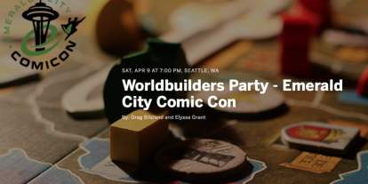 Worldbuilders Party at Emerald City Comic Con