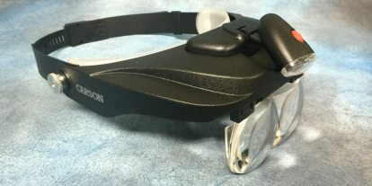 GeekDad Paints! Carson Optical MagniVisor… I Can See Again!