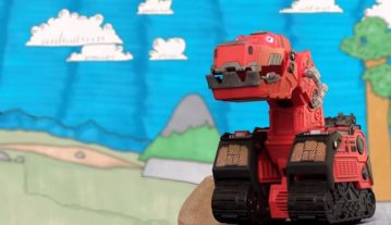 'Dinotrux' Stop-Motion Film is Pretty Awesome