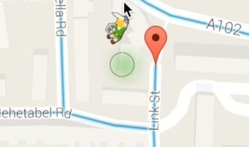 Google Maps Orange Meeple Replaced by Link From 'The Legend of Zelda'