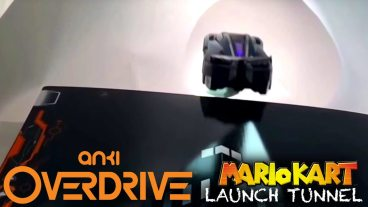 Mario Kart Launch Tunnels Recreated with Paper, Tape, and Anki