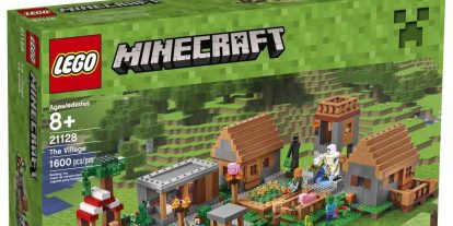 LEGO Announces a New Minecraft Set: The Village
