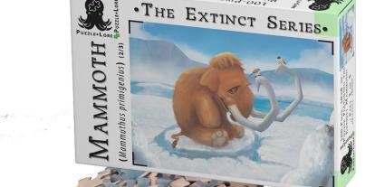 Kickstarter Alert: 'The Extinct Series: Woolly Mammoth' Educational Puzzle