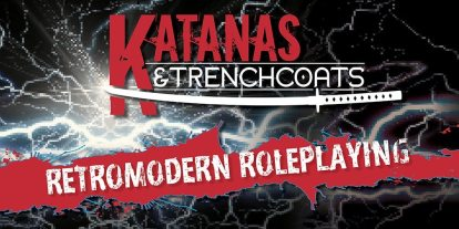 Kickstarter Alert: You Only Live Forever in 'Katanas & Trenchcoats'