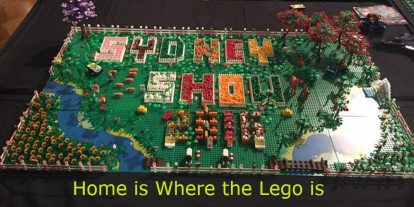 Sydney Brickshow: Home Is Where the LEGO Is