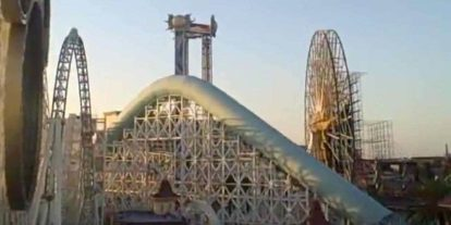Roller Coasters as a Lesson in Physics