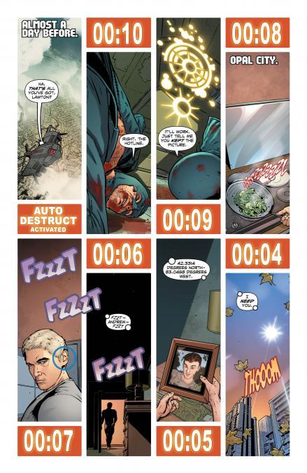 Page 2, Midnighter #11, copyright DC Comics
