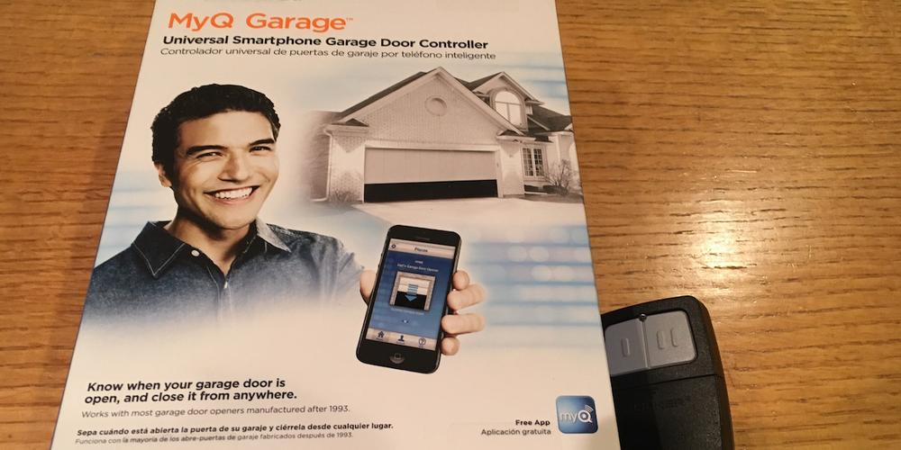 myq garage doorHow Not to Install a MyQ Garage Door Opener  GeekDad