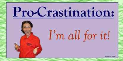 Procrastination Destination: Earth Day!