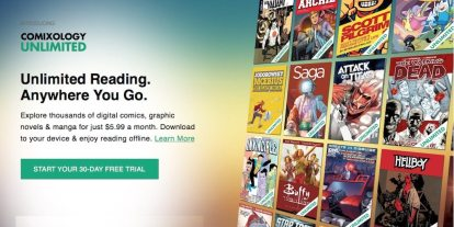 "Comixology Launches ""Unlimited"" Service for IDW, Dark Horse, Image, More"